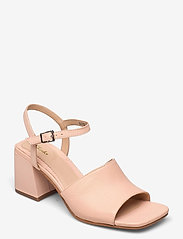 Clarks - Sheer65 Block - högklackade sandaler - light pink lea - 0