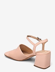 Clarks - Sheer65 Block - högklackade sandaler - light pink lea - 2
