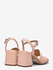 Clarks - Sheer65 Block - högklackade sandaler - light pink lea - 4