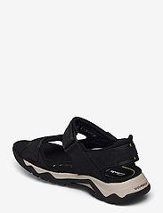 Clarks - Wave2.0 Jump - sandales - black nubuck - 2