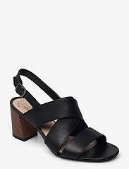 Clarks - Jocelynne Bao - sandales à talons - black leather - 0
