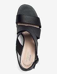 Clarks - Jocelynne Bao - sandales à talons - black leather - 3