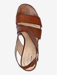 Clarks - Jocelynne Bao - sandales à talons - tan leather - 3