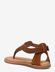 Clarks - Karsea Post - platta sandaler - tan leather - 2