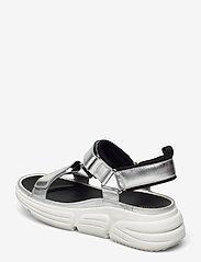 Clarks - TriComet Go - platta sandaler - silver metallic - 2