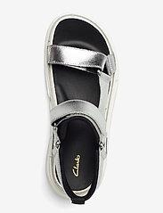 Clarks - TriComet Go - platta sandaler - silver metallic - 3