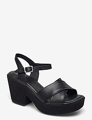 Clarks - Maritsa70Strap - kilklackar - black leather - 0