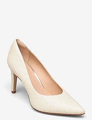Clarks - Genoa85 Court - escarpins classiques - white interest - 0