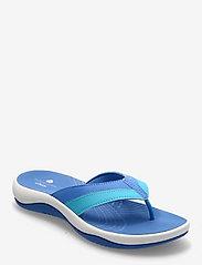 Clarks - Sunni Surf - platta sandaler - blue - 0