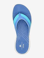Clarks - Sunni Surf - platta sandaler - blue - 3