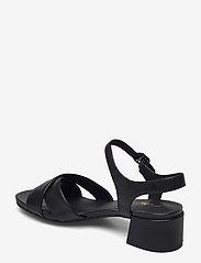 Clarks - Sheer35 Strap - högklackade sandaler - black smooth - 2