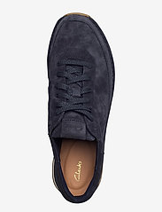 Clarks - CraftRun Lace - baskets basses - navy suede - 3