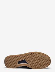 Clarks - CraftRun Lace - baskets basses - navy suede - 4