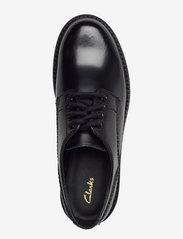 Clarks - Orianna Derby - snörskor - black hishine leather - 3