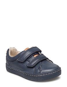 City Topia - Navy Leather