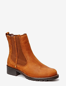 Orinoco Club - chelsea støvler - brown snuff