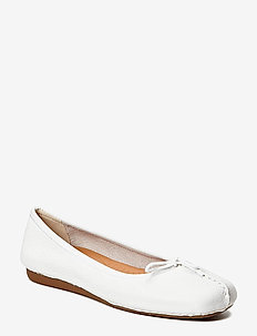 Freckle Ice - ballerinaer - white leather