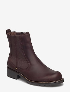 Orinoco Club - chelsea støvler - burgundy leather