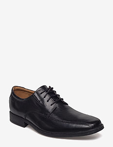 Tilden Walk - veterschoenen - black leather