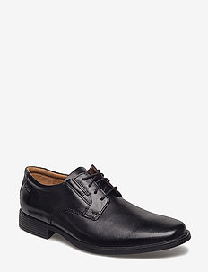 Tilden Plain - chaussures lacées - black leather