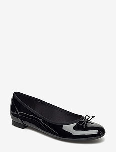 Couture Bloom - ballerinas - black pat