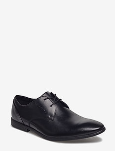 Bampton Lace - chaussures lacées - black leather