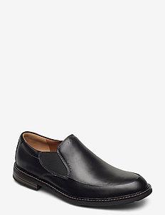 Unelott Step - loafers - black leather