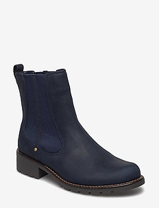 Orinoco Club - chelsea boots - navy nubuck