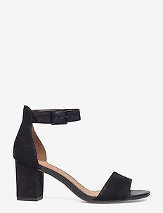 Deva Mae - högklackade sandaler - black sde