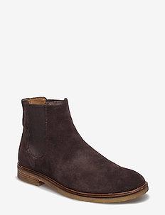 Clarkdale Gobi - chelsea boots - dark brown suede