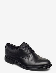 LondonMap GTX - nauhakengät - black leather