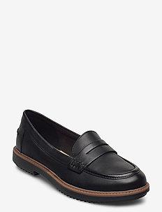 Raisie Eletta - loafers - black leather