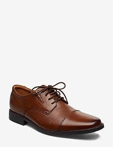 Tilden Cap - chaussures lacées - dark tan lea