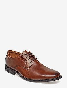 Tilden Plain - chaussures lacées - dark tan lea