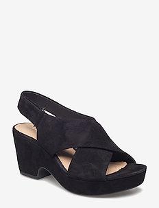 Maritsa Lara - højhælede sandaler - black sde
