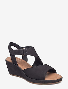 Un Plaza Sling - heeled sandals - black nubuck
