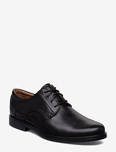 Un Aldric Lace - chaussures lacées - black leather
