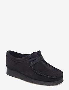 Wallabee. - chaussures à lacets - black sde