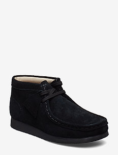 Wallabee Bt.. - skor - black sde