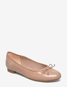 Couture Bloom - ballerinaer - nude patent