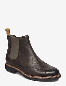 Batcombe Top - chelsea boots - taupe leather