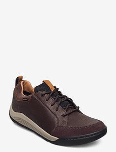 AshcombeBayGTX - veterschoenen - dark brown lea