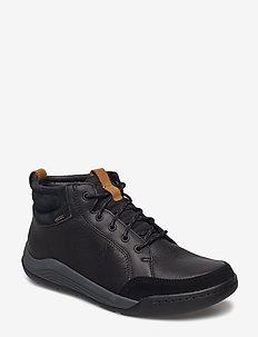 AshcombeMidGTX - baskets basses - black leather