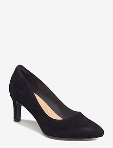 Calla Rose - klassiske pumps - black sde