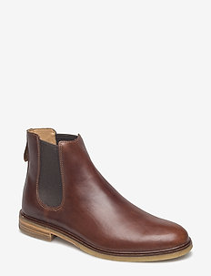 Clarkdale Gobi - chelsea boots - mahogany leather