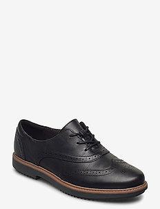 Raisie Hilde - buty sznurowane - black