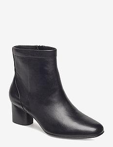 Un Cosmo Up - ankelstøvler med hæl - black leather