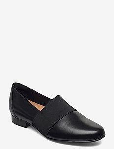 Un Blush Lo - loafers - black leather