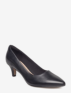 Linvale Jerica - klassiske pumps - black leather