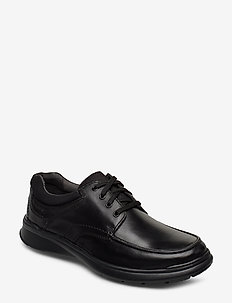 Cotrell Edge - chaussures lacées - blk smooth lea